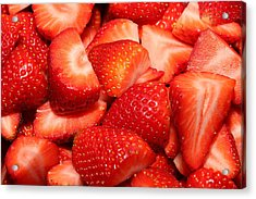 Strawberries 32 Acrylic Print