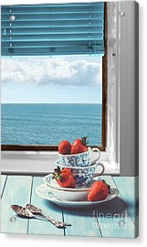 Strawberries By The Sea Acrylic Print