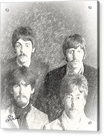 Strawberry Beatles  Acrylic Print