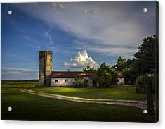 Strawberry County Acrylic Print by Marvin Spates