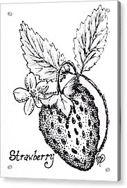 Strawberry Dreams Acrylic Print