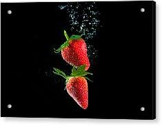 Strawberry Falls Acrylic Print