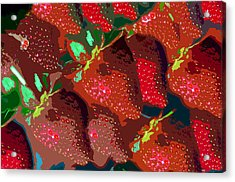 Strawberry Fields Forever Acrylic Print by David Lee Thompson