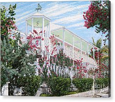 Strawberry House Acrylic Print