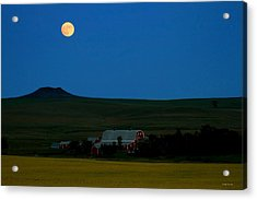 Strawberry Moon Acrylic Print