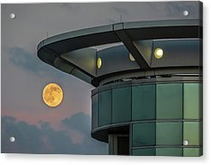 Strawberry Moon - Radisson Plaza Hotel Acrylic Print