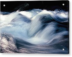 Acrylic Print featuring the photograph Stream 1 by Dubi Roman