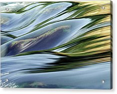 Acrylic Print featuring the photograph Stream 3 by Dubi Roman