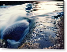 Acrylic Print featuring the photograph Stream 4 by Dubi Roman