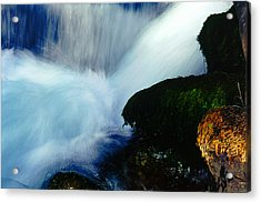 Acrylic Print featuring the photograph Stream 5 by Dubi Roman