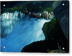 Acrylic Print featuring the photograph Stream 6 by Dubi Roman