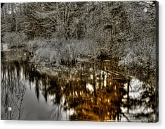 Acrylic Print featuring the photograph Stream IIi by Greg DeBeck