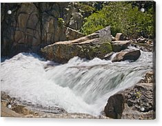 Acrylic Print featuring the photograph Stream In Yosemite National Park by Matthew Bamberg