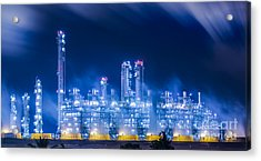 Stream Power Plant Acrylic Print
