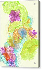 Stream - #ss18dw005 Acrylic Print by Satomi Sugimoto