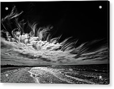Streaming Clouds Acrylic Print