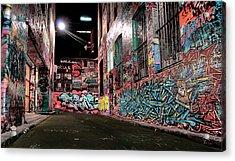 Street Art Acrylic Print