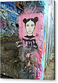 Acrylic Print featuring the photograph Street Art by Bill Thomson