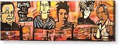 Street Art Lives Acrylic Print