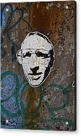 Street Art Wiliamsburg Brooklyn Acrylic Print by Robert Ullmann