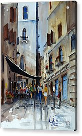 Taverna D' Strada Acrylic Print
