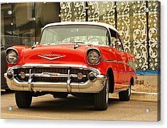 Acrylic Print featuring the photograph Street Classic by Al Fritz