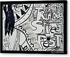 Street Fest Acrylic Print