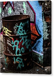 Acrylic Print featuring the photograph Street Gallery by Odd Jeppesen