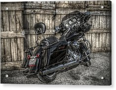 Street Glide Crated 2 Acrylic Print by Bennie McLendon