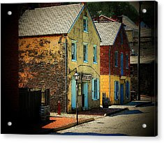 Street In Harper's Ferry Acrylic Print by Joyce Kimble Smith