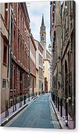 Acrylic Print featuring the photograph Street In Toulouse by Elena Elisseeva