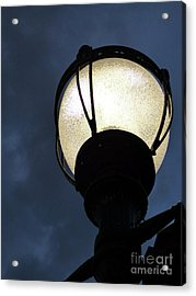 Street Lamp At Night Acrylic Print