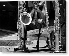 Street Music Acrylic Print by John S