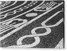 Street No.1 - Ponta Del Gada - Azores Acrylic Print