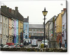 Acrylic Print featuring the photograph Streets Of Cahir by Marie Leslie