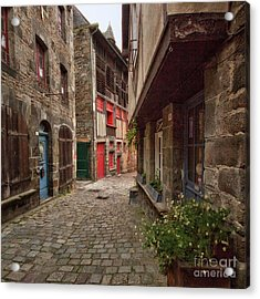 Street Of Dinan Acrylic Print