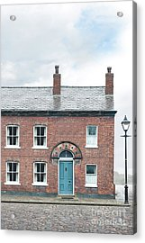 Street Of Working Class Terraced Houses Acrylic Print by Lee Avison