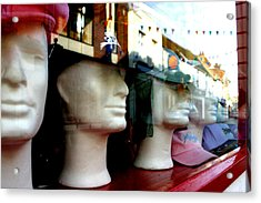 Street Party Without Us Acrylic Print by Jez C Self