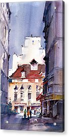 Parisian Stroll Acrylic Print