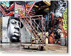 Street Portraiture Acrylic Print