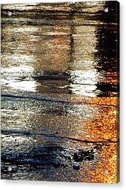 Street Reflections 2 Acrylic Print by Beth Akerman