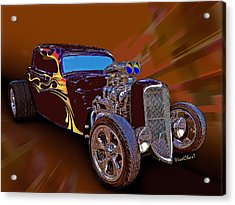 Street Rod What Is It Acrylic Print