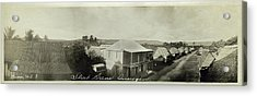 Acrylic Print featuring the photograph Street Scene Inarajan Guam by eGuam Panoramic Photo