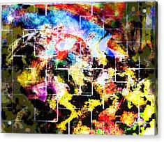 Street Scene Acrylic Print by Suzanne Shepherd