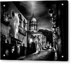 Street To The Nun's Church Acrylic Print