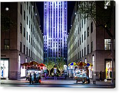 Acrylic Print featuring the photograph Rockefeller Center by M G Whittingham