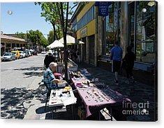 Street Vendors On Telegraph Avenue At University Of California Berkeley Dsc6236 Acrylic Print