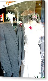 Street Wedding Acrylic Print by Jez C Self