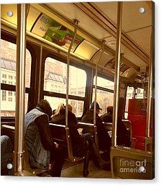 Streetcar Acrylic Print