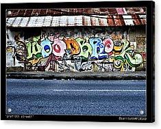 Streeti Graffiti Acrylic Print